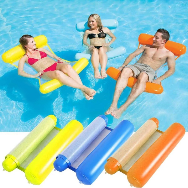 💥Summer Hot Sale 50% OFF💥Floating Water Hammock(with air Pump)
