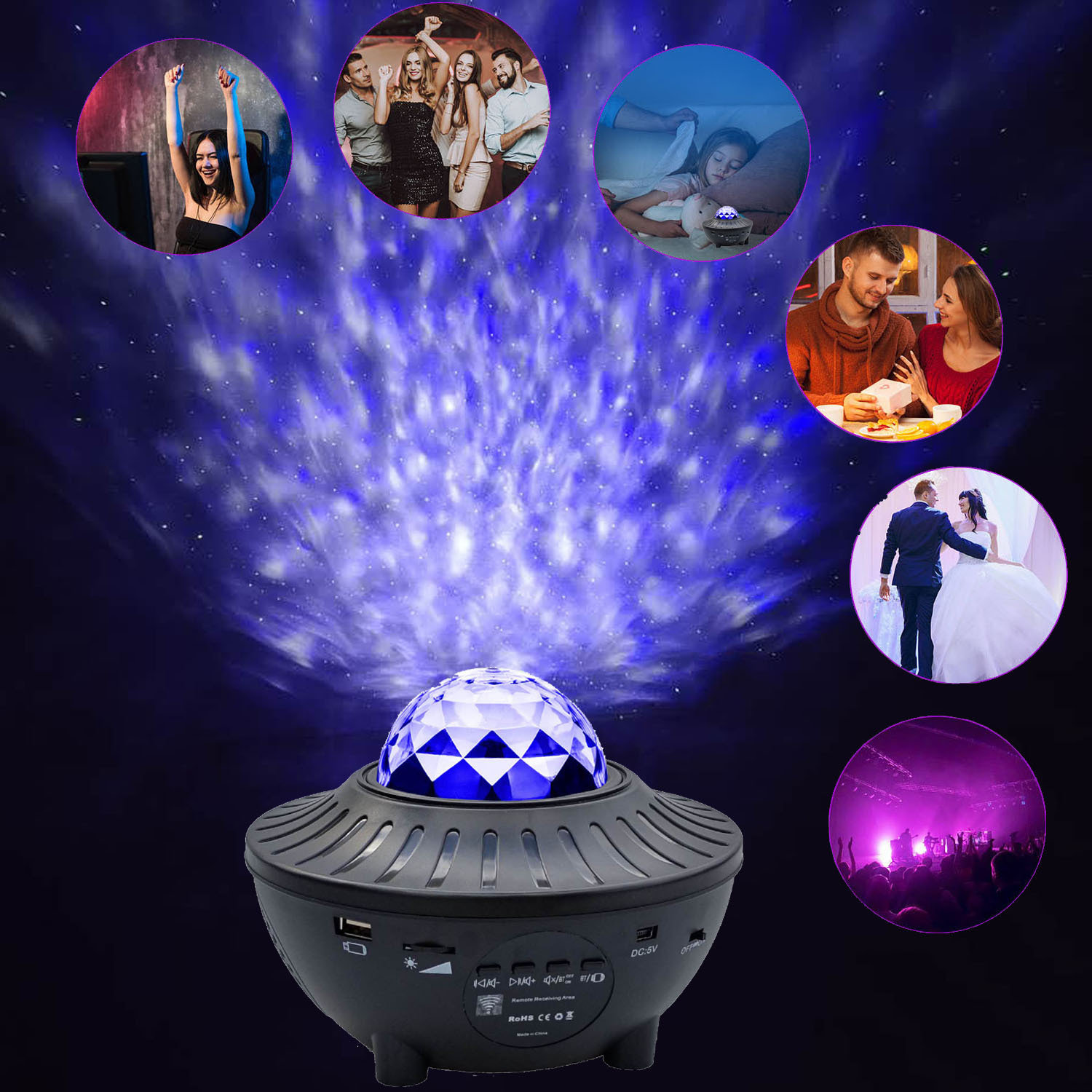 (50%OFF)2020 latest starry sky projector