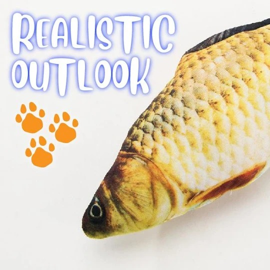 Simulation fish toy -- For cats and children