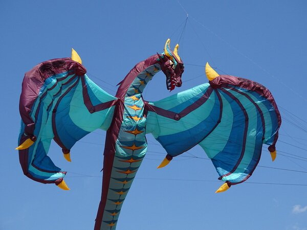 Inflatable Super Invincible Very Very Large Dragon Kite🐉