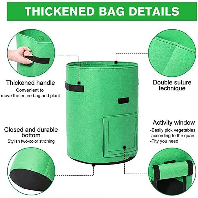 🎉🎉🎉45%OFF-Summer Special☀☀☀5/7/10 GAL Potato Planting Grow Bags🌱🌱🌱