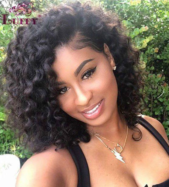 African American Hair Wigs For Girls Teal Lace Front Wig Deep Wave Closure Sew In 360 Lace Wig Deep Wave Custom Lace Front Wigs Lavender Lace Front Wig