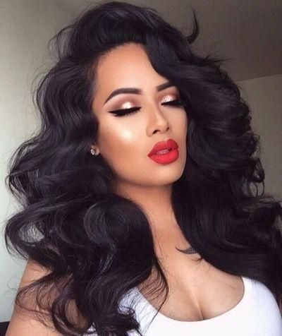 Black Wigs For Black Women Curly Bob Wigs For African American Pre Plucked 360 Frontal Ebony Wigs Near Me Finger Waves Hair
