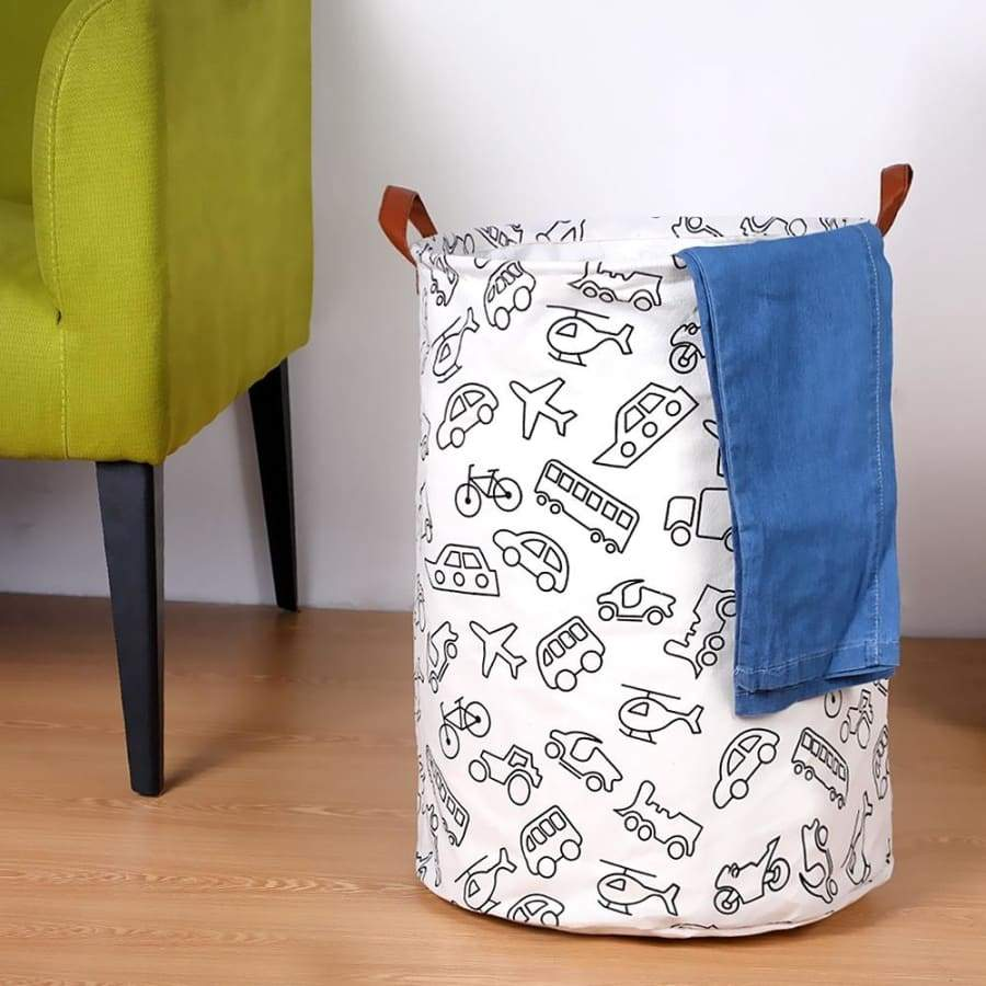 Portable Folding Laundry Basket  Round Storage Bin Large   Organizer Clothes Toy  Laundry Folding 1pcs