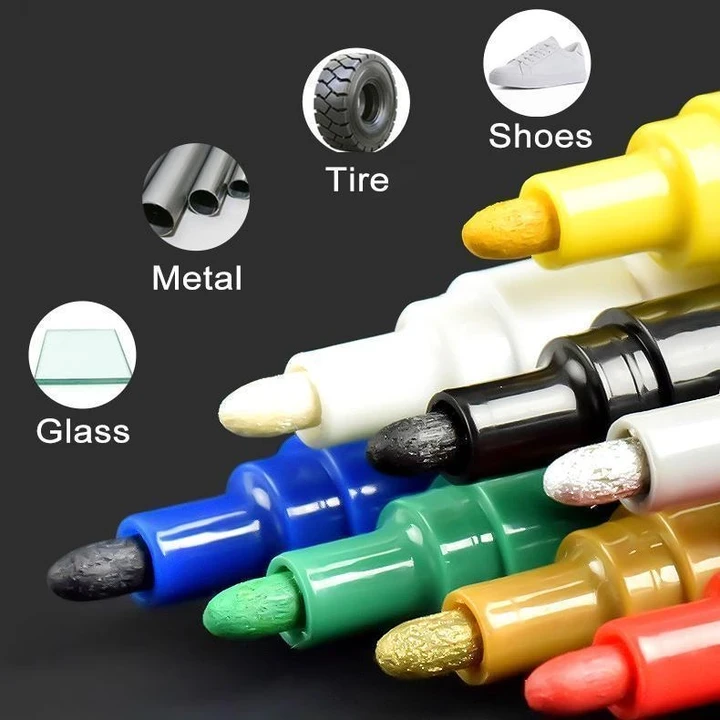 Waterproof, Non-Toxic, Permanent Tire Paint Pen-Buy More Save More