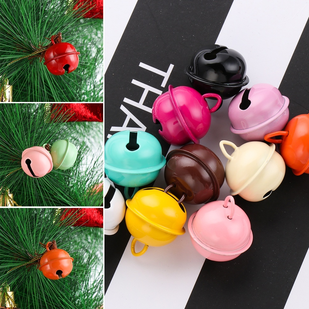 Key Hanging DIY Xmas Tree Ornaments Jingle Bells Pet Pendants Christmas Decor