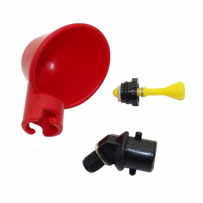 3/10 PCS Bird Waterer Chicken Duck Pigeon Automatic Nipple Drinkers Screw Style Poultry Drinking Bowls Feeders