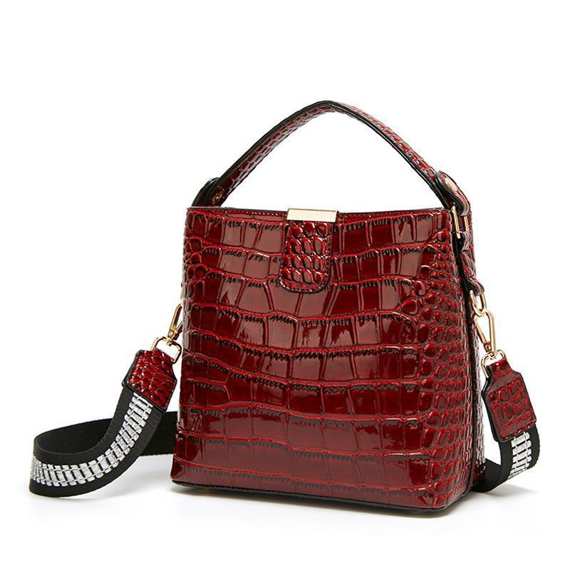 French Luxury Crocodile Lady Bag in 2020