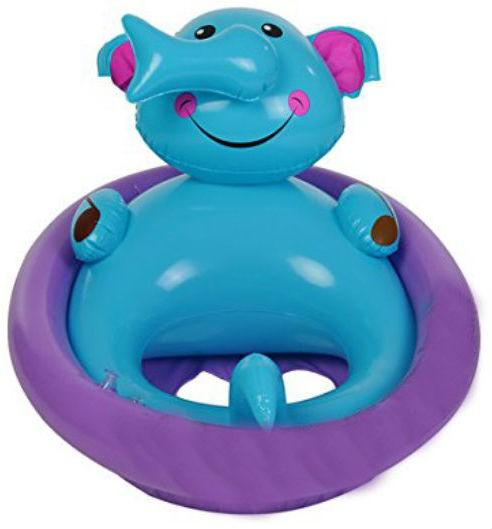 Shrih Baby Inflatable Swimming Pool Ring Inflatable Swimming Pool  (Multicolor)