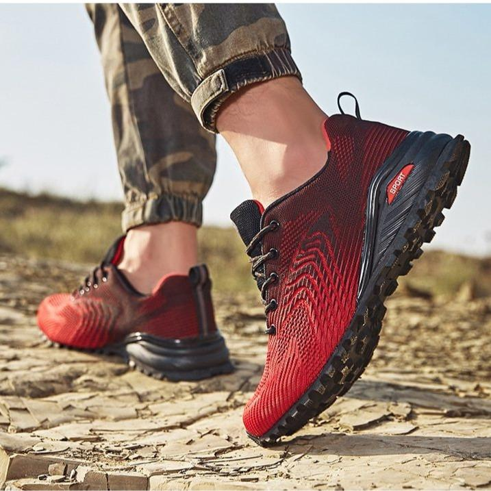 Men's fashion non-slip sneakers casual outdoor breathable shoes traveling shoes