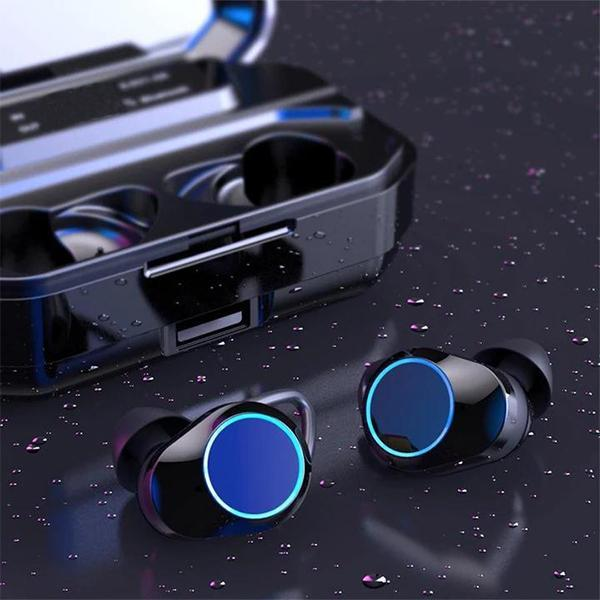 Last day 70% OFF-Touch Control Wireless Earbuds With Power Box(Buy 2 free shipping)