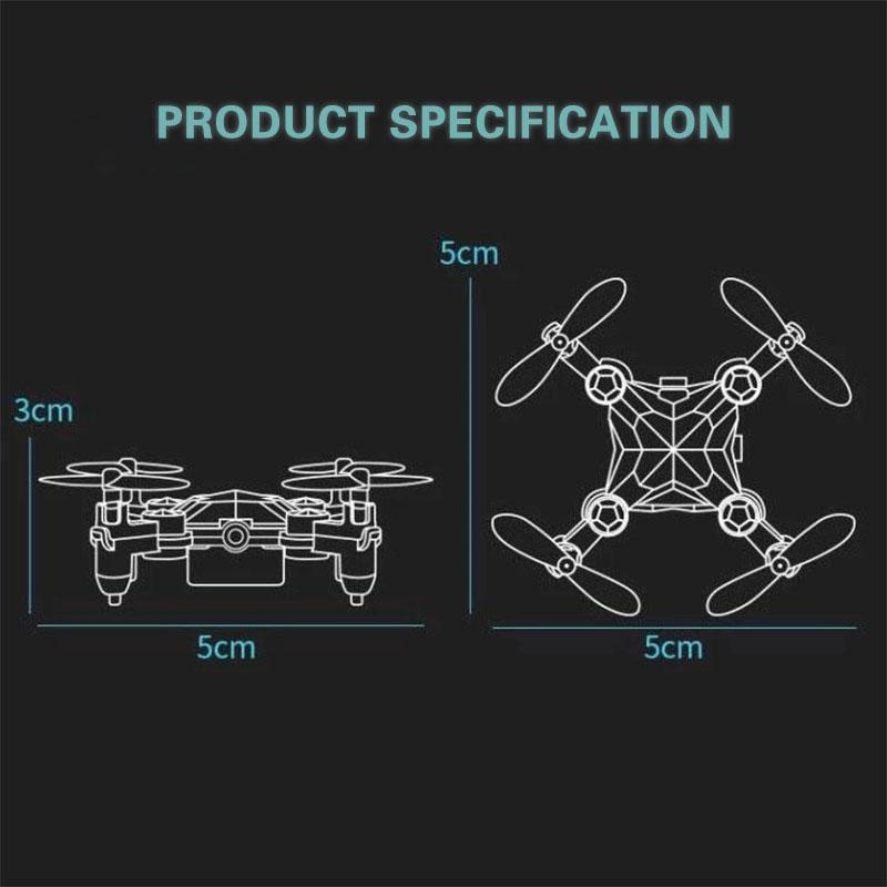 (Last Day Promotion 70% OFF) 2020 New Foldable Mini Drone Camera