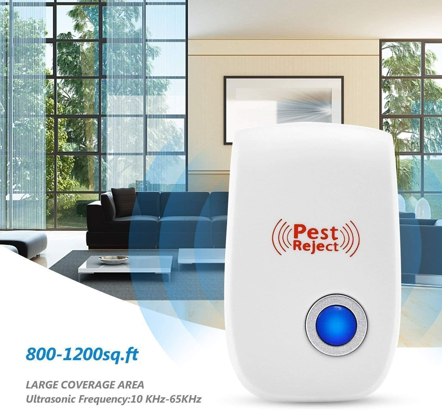 2020 Upgrated Pest Control Ultrasonic Repellent(50%OFF TODAY)