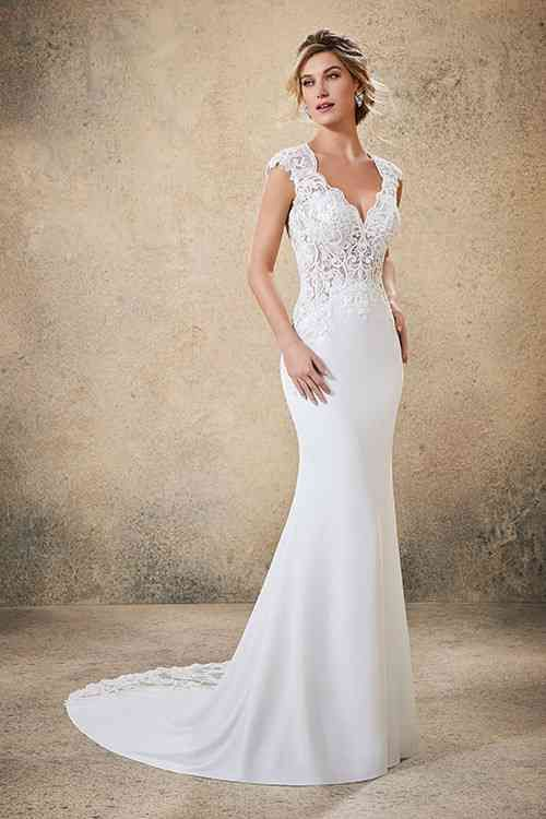 2020 New Wedding Dress Fashion Dress mother of the bride beach wedding dresses chiffon bell tower bridal and boutique