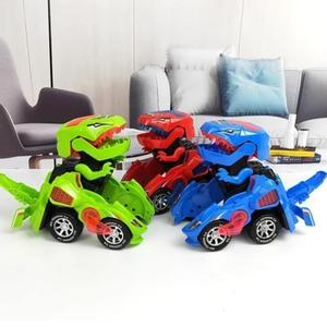 🔥only £16.99 today🔥LED Transforming Dinosaur Car