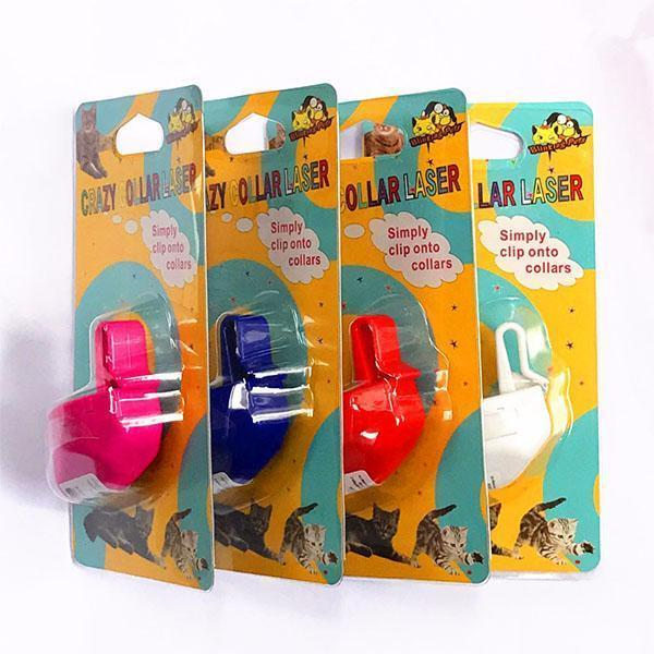 Fashion Mini Plastic ABS Laser Fat Cat Training Toy For Dogs No Collar
