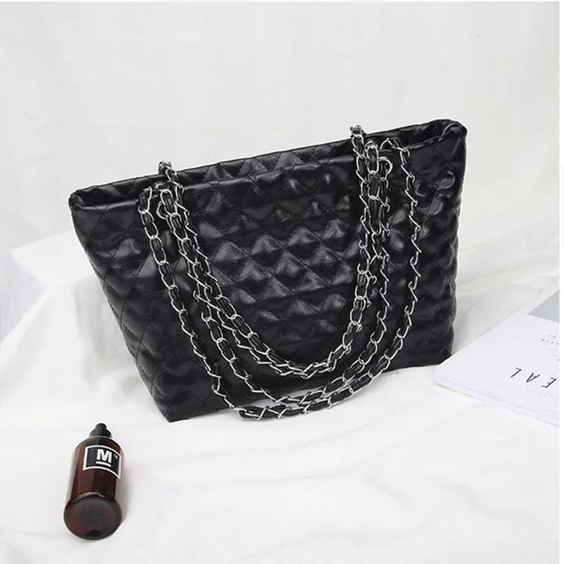 Small fragrance rhombus chain shoulder bag
