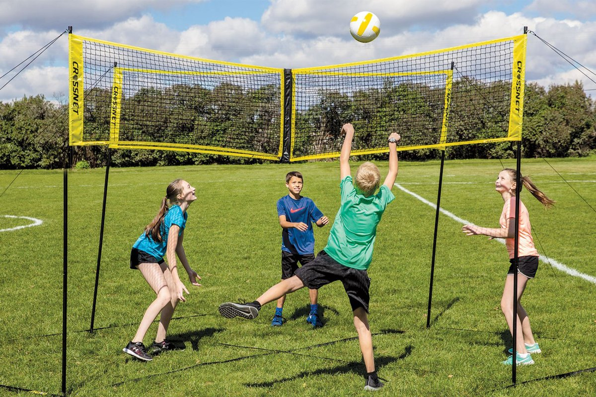 (Last Day Promotion&60% OFF) 4×4 Cross volleyball net