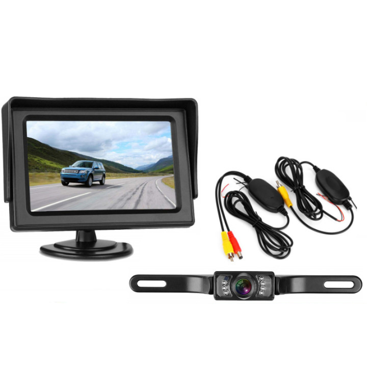 License Plate Wireless HD Camera