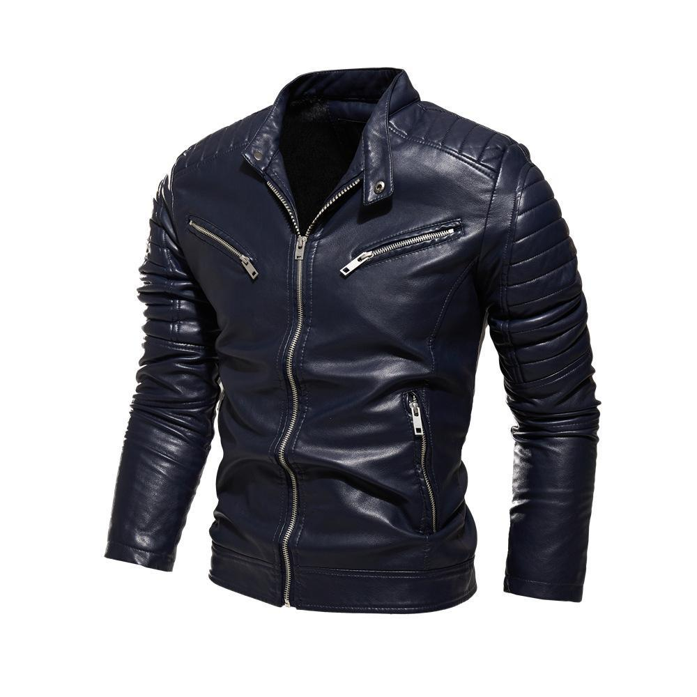 Men's New Personal Leather Jacket Fashionmen