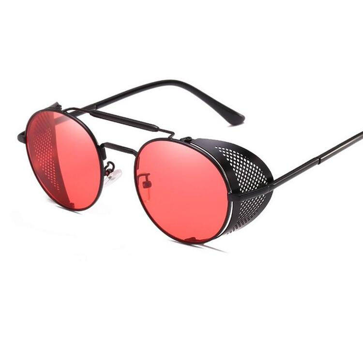 💥FREE GIFT💥 Retro Steampunk Polarized Sunglasses Goggle Side-Shielded