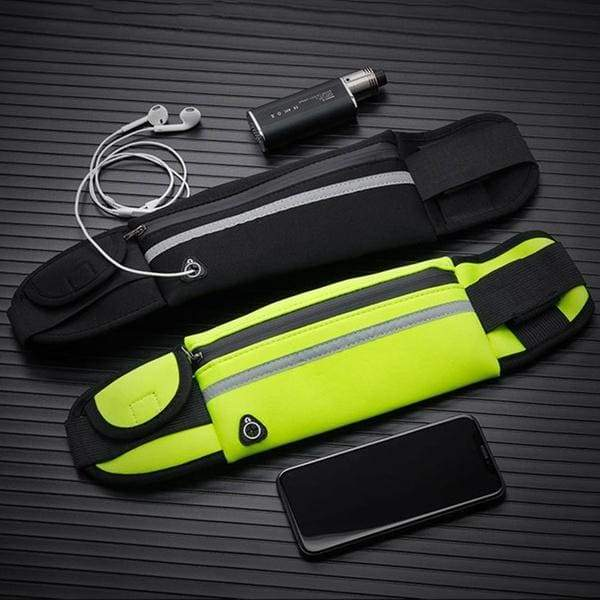 New Outdoors Running Waist Bag Waterproof Phone Container Jogging Hiking Belt Belly Bag Women Gym Fitness Bag Lady Sport Accessories