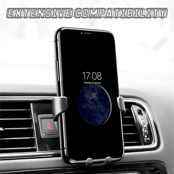 Gravity Auto-Clamping Air Vent Car Phone Mount