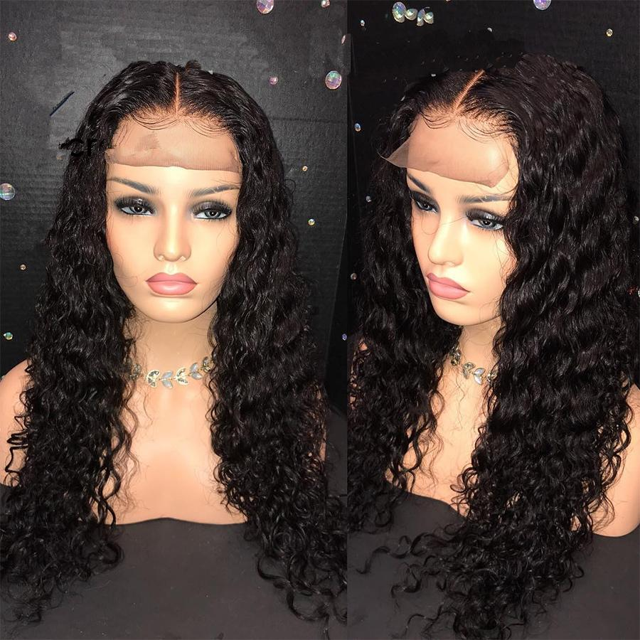 DEEP CURLY LACE FRONT WIG 18-22 INCH LONG WIG FOR BLACK WOMEN