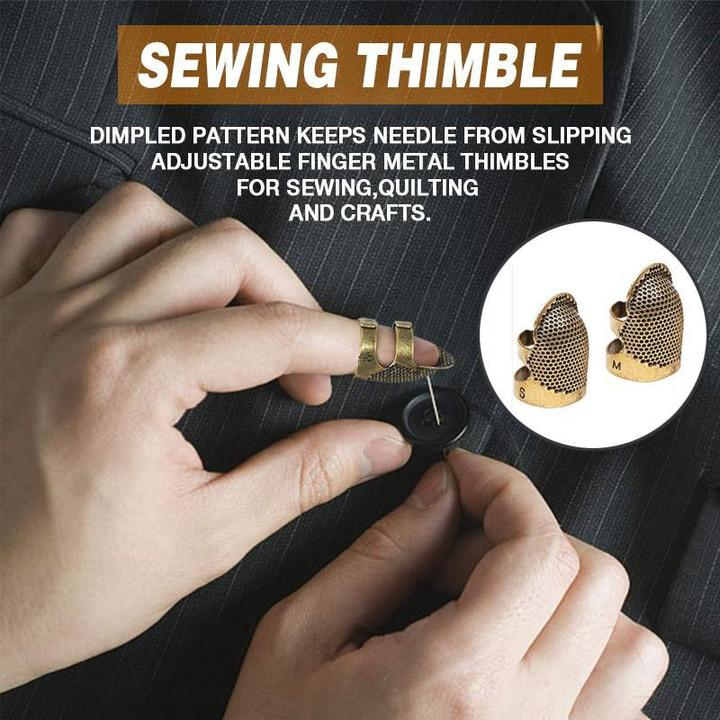 (Early Mother's Day Promotion-50% OFF) Sewing Thimble Finger Protector