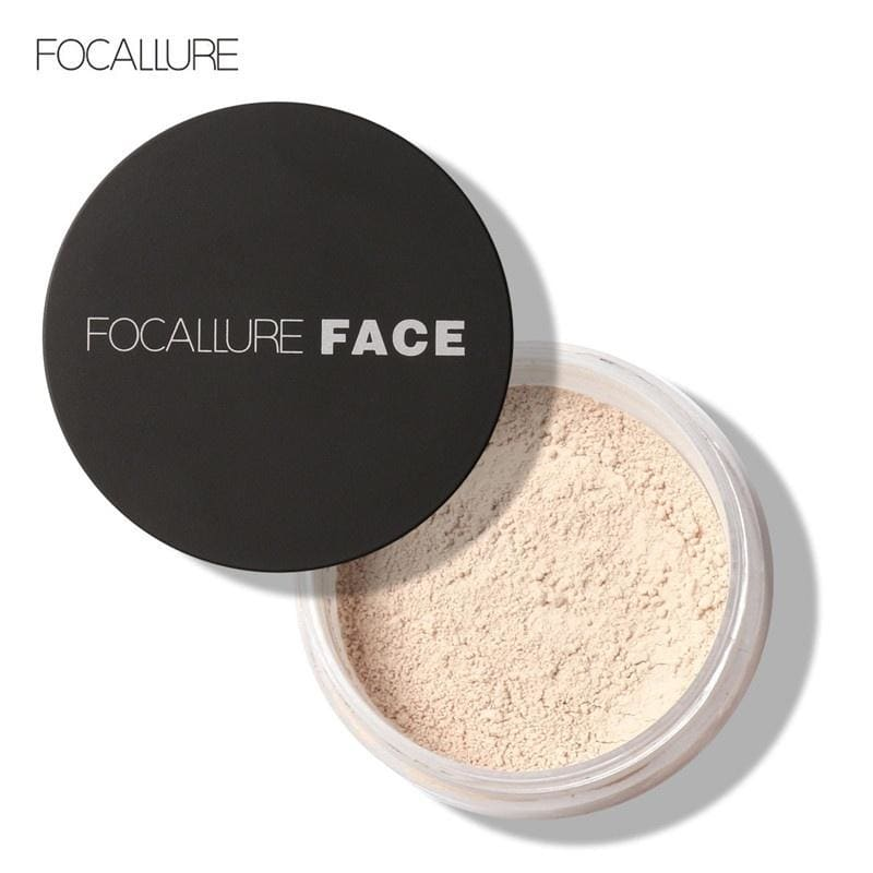 FOCALLURE Smooth Loose Oil Control Face Powder Makeup Concealer Beauty Face Base