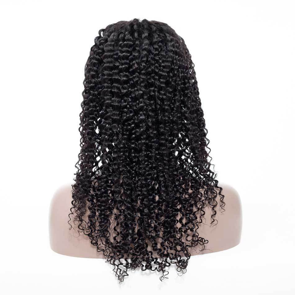 High quality lace front wig Curl Hair 13x4 Lace Front Wig natural hairline