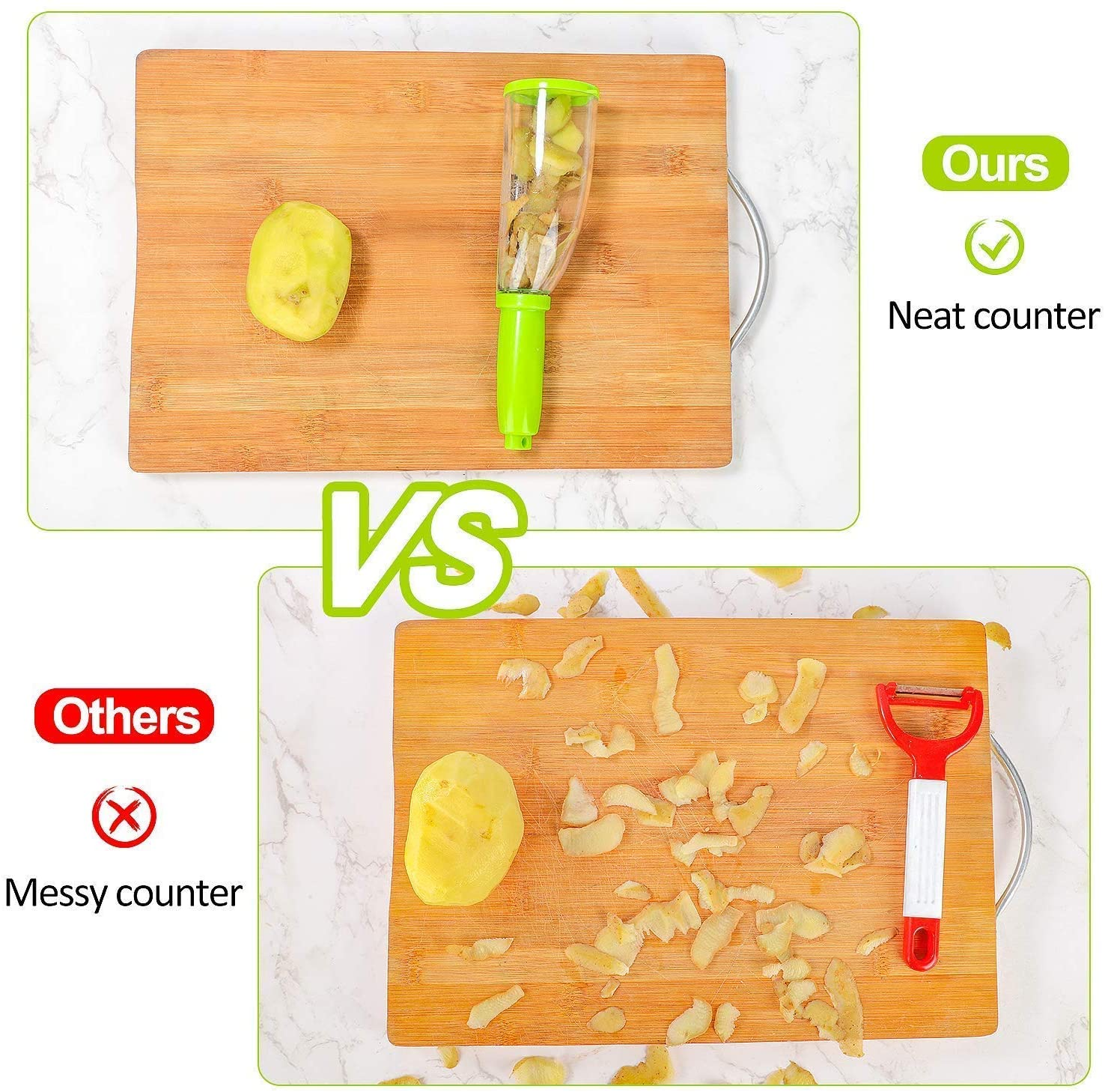 【Last Day 50%OFF】Smart Fruits And Vegetables Peeler