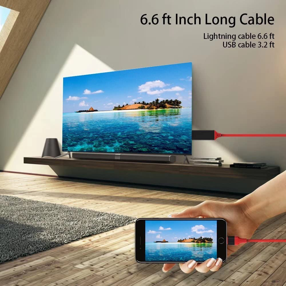 iPhone Screen To TV Cable - 70%OFF