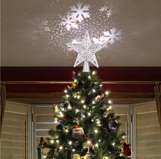 Black Friday Hot Sale--PROJECTION STAR CHRISTMAS TREE TOPPER🎉