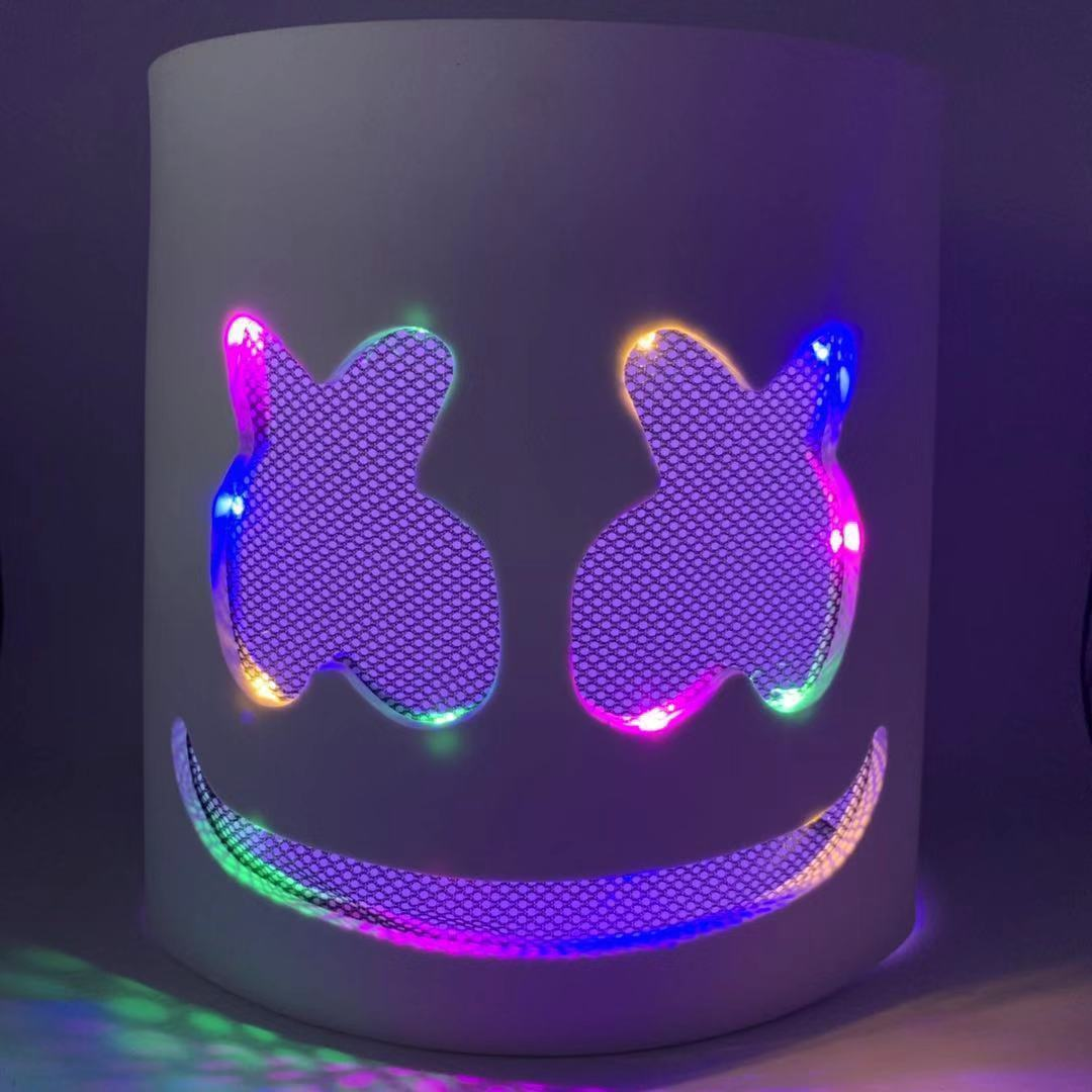 Halloween DJ Mask Neon (Buy 2 or More Free Shipping)