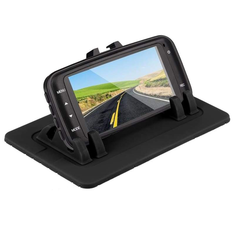 Phone Holder Car Mount Stand Silicone Pad Dash Mat Cradle Dock Anti-slip For Smart Phones Tablet PC GPS Devices Car Recorder