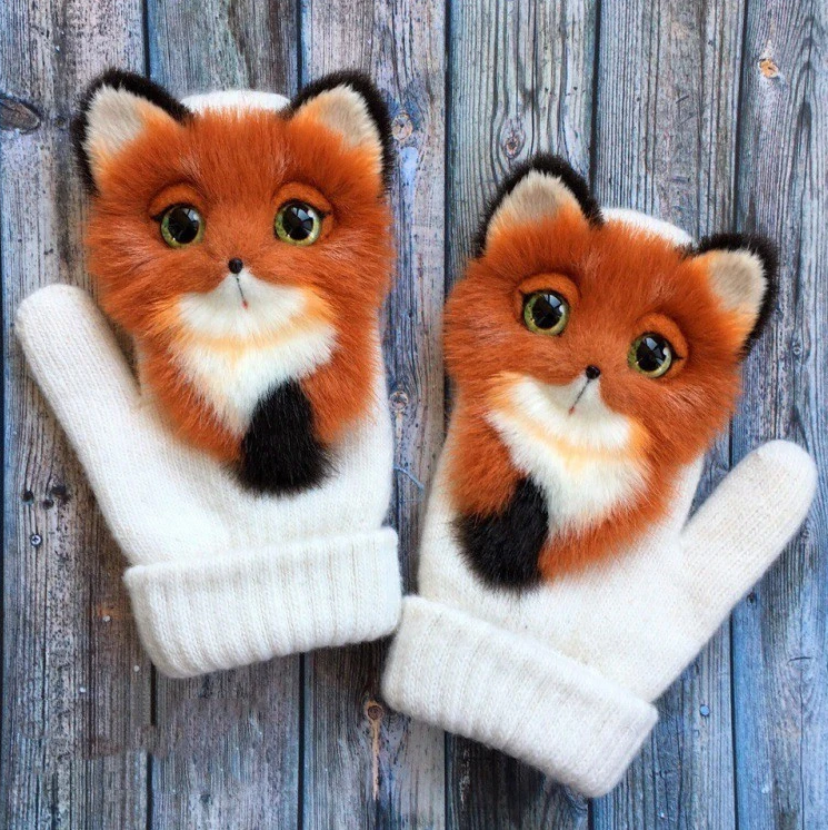 🍓BUY MORE SAVE MORE🍓Hand-knitted pet gloves