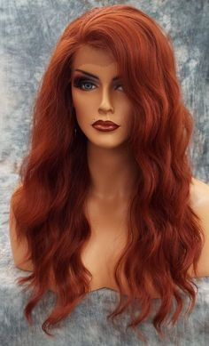 Lace Frontal Wigs Red Hair Red Hair With Pink Highlights Lace Wig Colors Cornrows With Beads Short Hairstyles 2019 Free Shipping