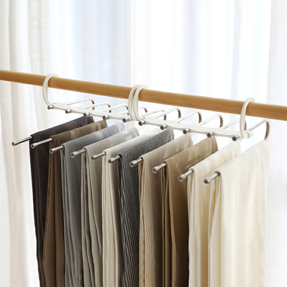 (Last day Promotion!!!) Multi-Functional Pants Rack