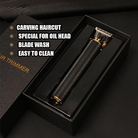 Professional Small Rechargeable Electric Hair Close-cutting Trimmer