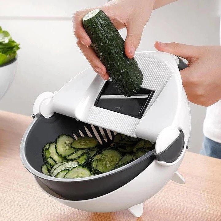 SmoothSlice Rotating Vegetable Slicer