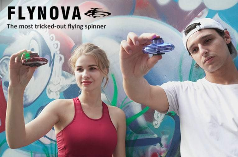 FlyNova - The Most Tricked-Out Handheld Flying Spinner
