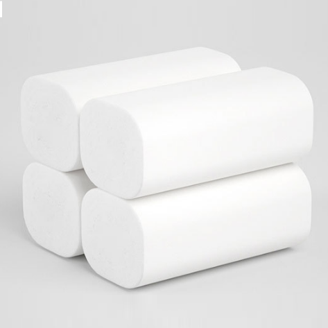 WoDi™ Coreless Paper Towels Toilet Paper 100% Recycled, 5 Ply Bath Tissue 12 Rolls Get 6 Rolls Free