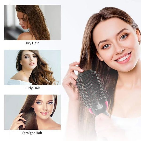 3 In 1 Hair Styling Hot blow dryer Comb Brush