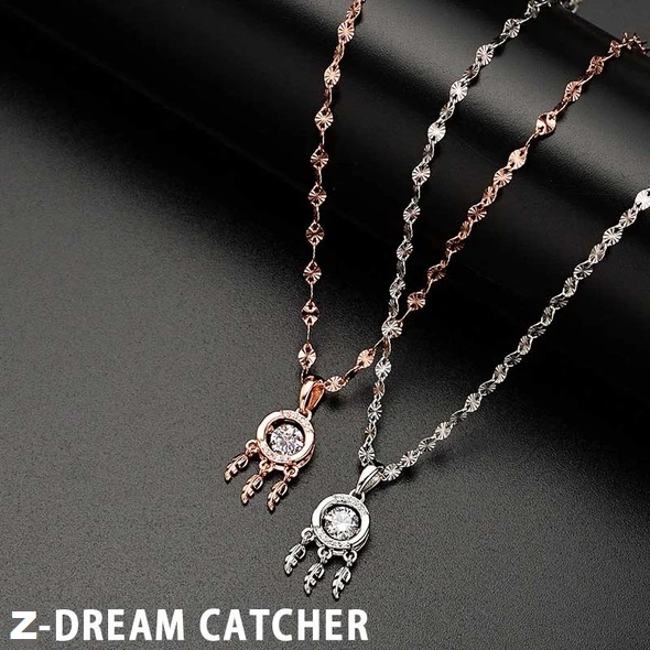 Shimmering Heart Stone Necklace-BUY 2 FREE SHIPPING