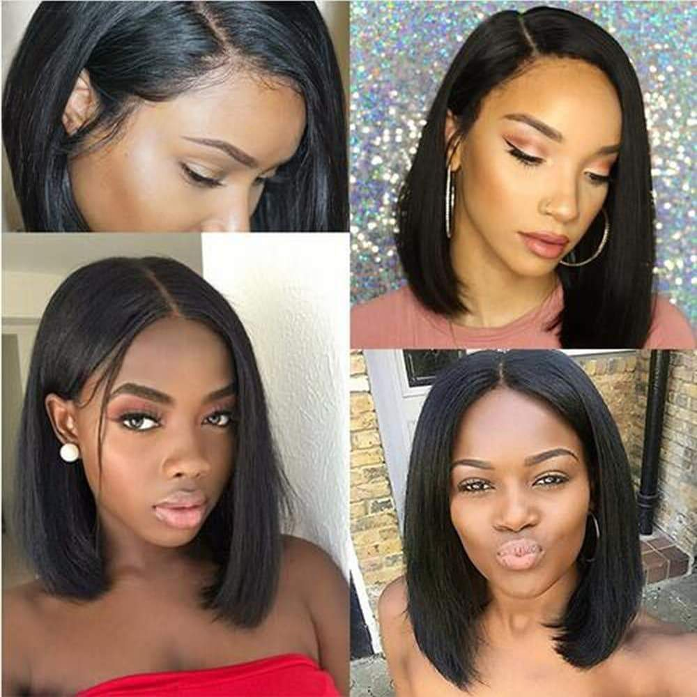 Straight Lace Front Wigs Brazilian Bob Wig Straight Synthetic Wig