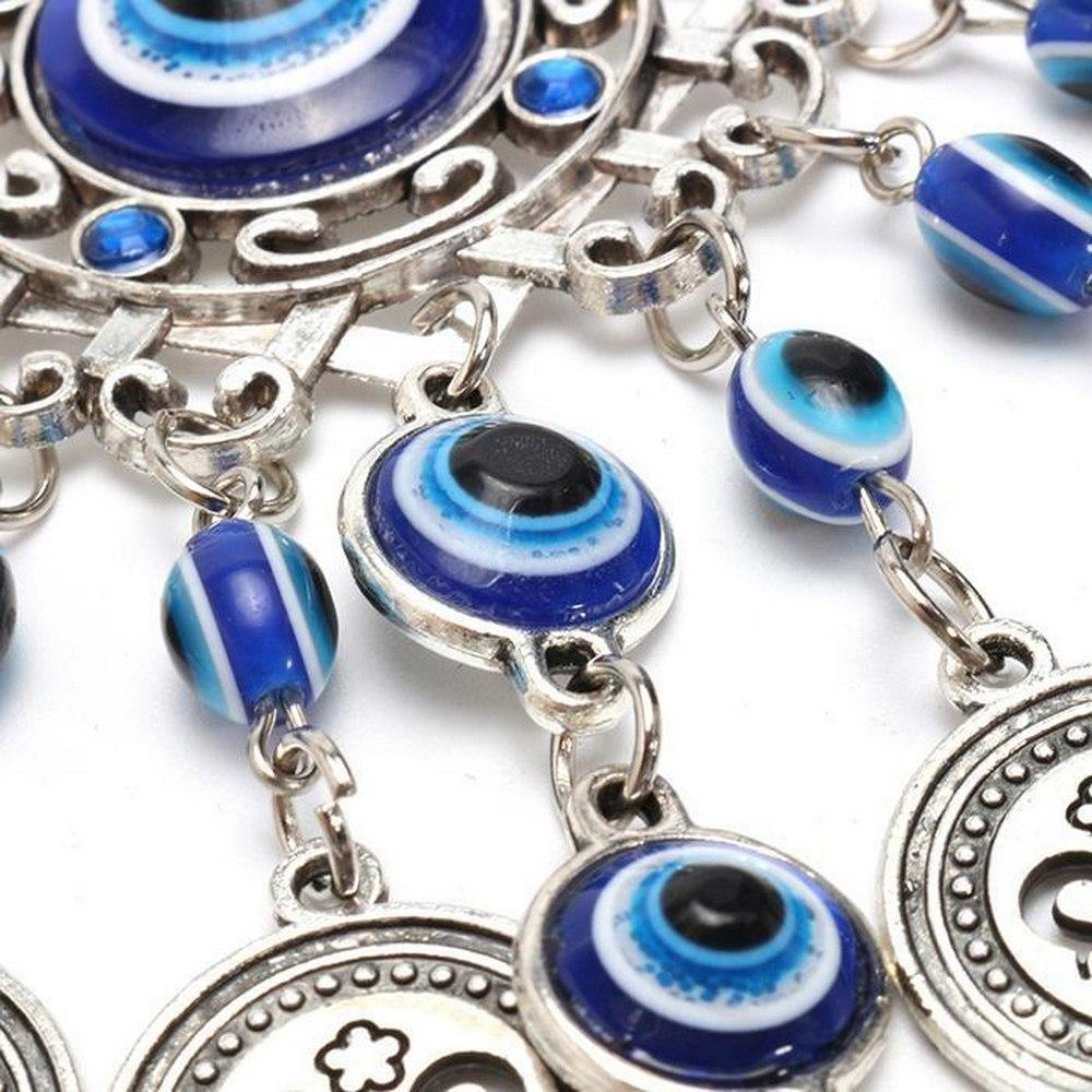 Evil Eye-Turkish style decorative wind chimes
