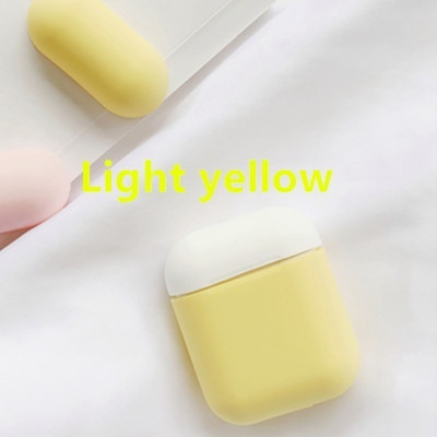 2019 new Colorful Case for Apple AirPods Portable Dustproof Earphones Protector Silicone Skin Strap Air Pod Cover airpods