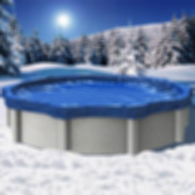 Winter Cover for Above Ground Pools | Easy Set