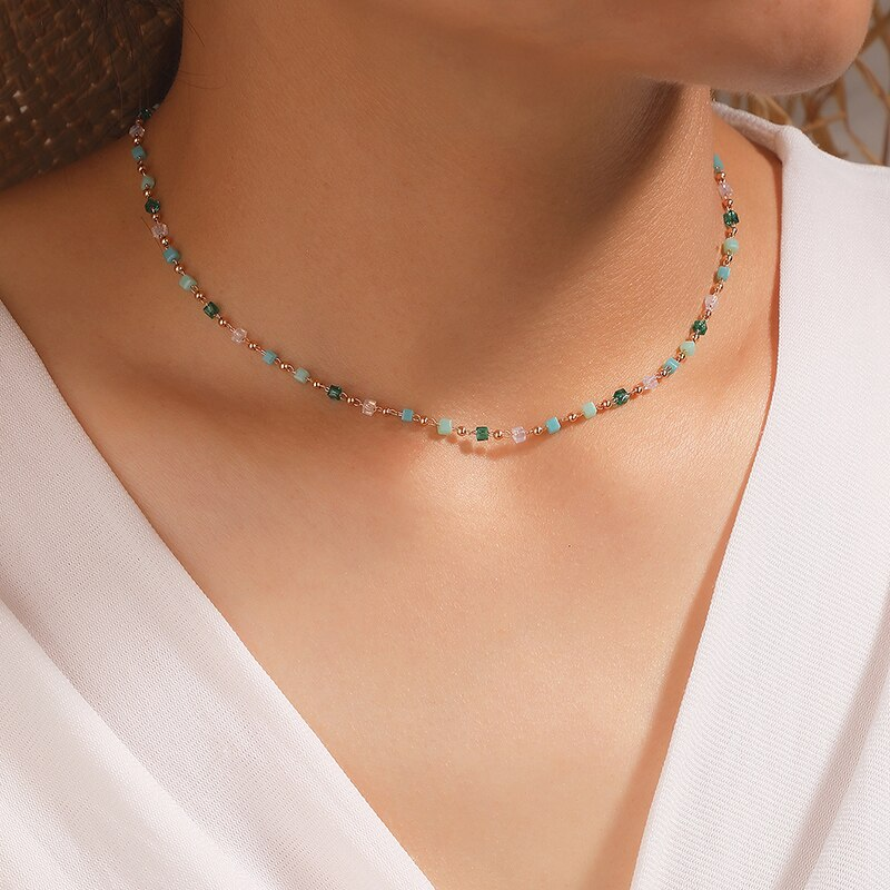 Pacific Teal Necklace